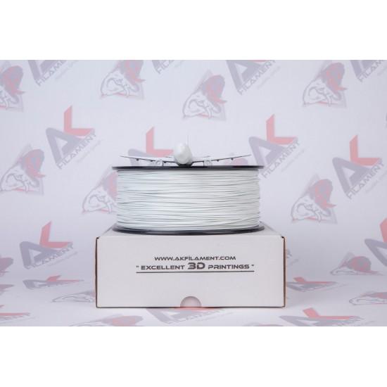 Ak Filament 1.75 mm Beyaz ABS Filament - White