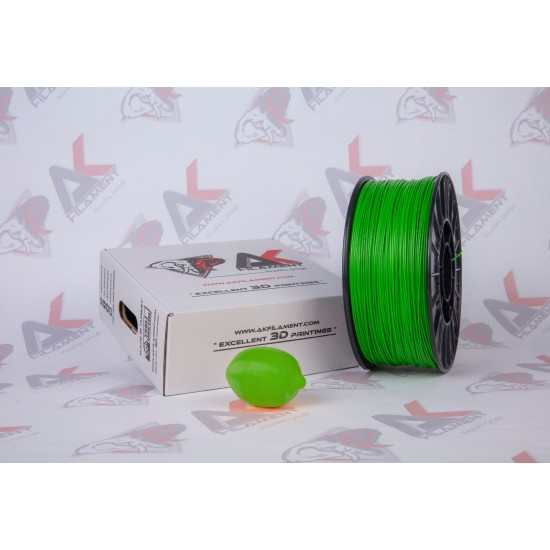 Ak Filament 1.75 mm Yeşil ABS Filament - Green