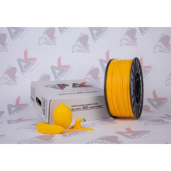 Ak Filament 1.75 mm Sarı ABS Filament - Yellow