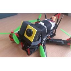 QAV-R 5 inç  - Wizard X220 Eken H9 Uyumlu Kamera Montaj Aparatı