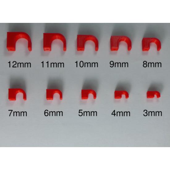 Beton Çivili Kablo Tutucu 3mm - 12mm