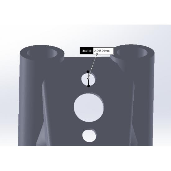 Geprc Mark 4 Uyumlu 30° Anten Tutucu