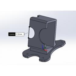 Özel Tasarım Xiaomi Yi Kamera Uyumlu Montaj Aparatı