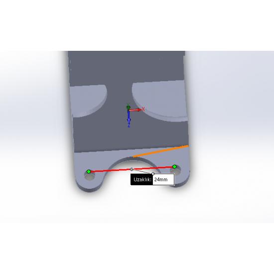 Xiaomi Yi Uyumlu Kamera Montaj Aparatı